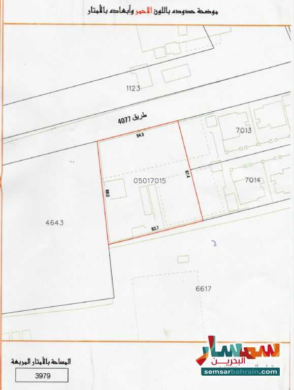 Ad Photo: Land 3979 sqm in Diraz  Ash Shamaliyah